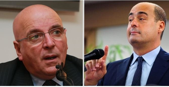 Mario Oliverio e Nicola Zingaretti