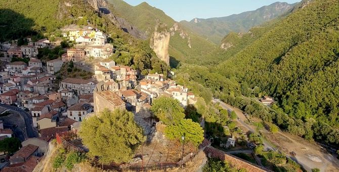 Il borgo di Orsomarso
