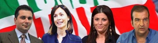 Pedà, Carfagna, Santelli e Occhiuto