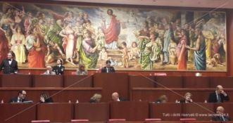 Seduta del Consiglio regionale