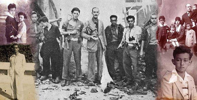 Il partigiano Giorgio Marincola in alcune foto d'epoca
