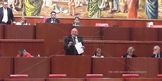 Il presidente Oliverio