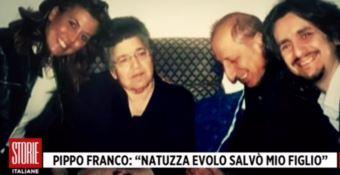 «Natuzza salvò mio figlio»: la toccante testimonianza di fede di Pippo Franco