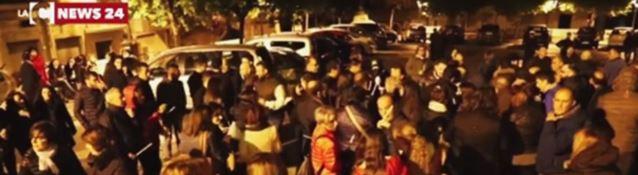 Manifestazione a Roccabernarda