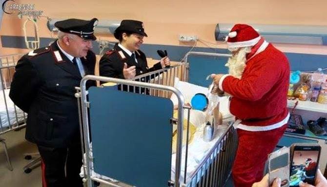Natale di solidarietà all'ospedale di Cosenza