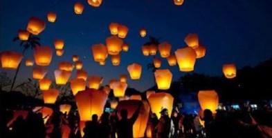 Lanterne volanti per sconfiggere il cancro, l'Airc di Pizzoni si mobilita