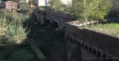 L'antico ponte borbonico dell'Angitola