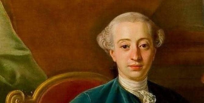 Un ritratto di Giacomo Casanova