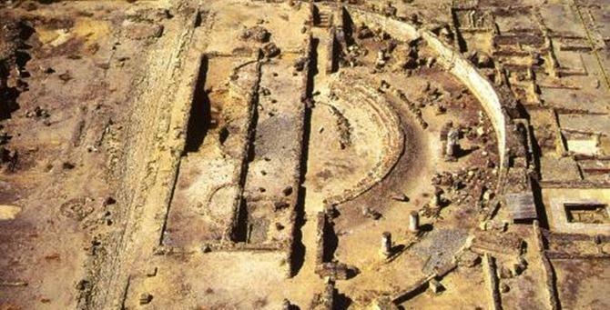 Il parco archeologico di Sibari
