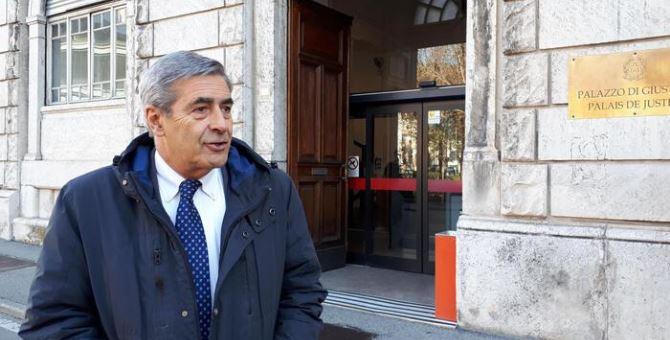 Il presidente della Regione Valle d'Aosta, Antonio Fosson (foto Ansa)