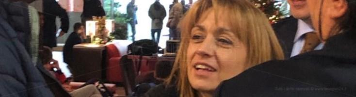 Angela Robbe alla convention con Zingaretti a Lamezia