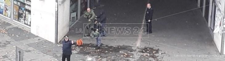 Allarme bomba a Cosenza, ma era solo un borsone di vestiti