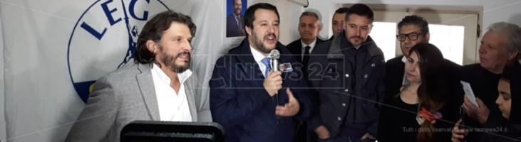 Salvini a Vibo Valentia