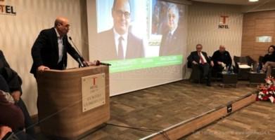 Investitura ufficiale per Callipo tra le lacrime, Zingaretti: «In ballo il destino di una regione»