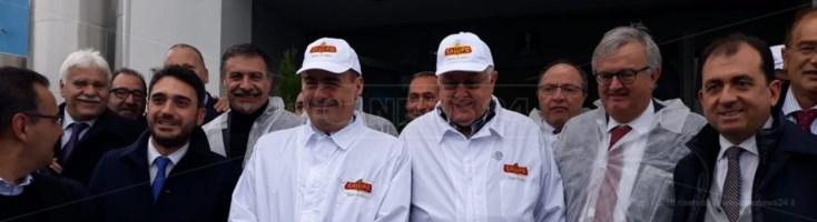 Regionali, Zingaretti incontra Callipo: «Pezzo da novanta, con lui per amore della Calabria»