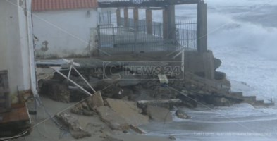 Maltempo in Calabria, Tropea richiede lo stato di calamità