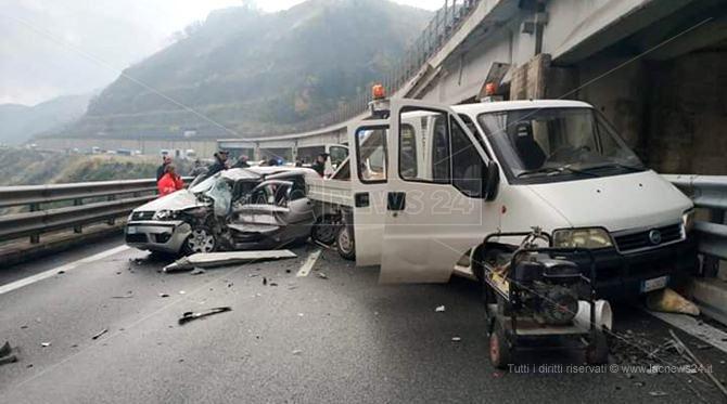 L'incidente a Cosenza