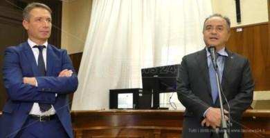 Camillo Falvo e Nicola Gratteri
