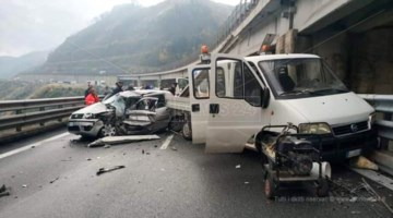 L'incidente mortale su A2