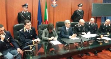 Cosenza, conferenza stampa su arresti