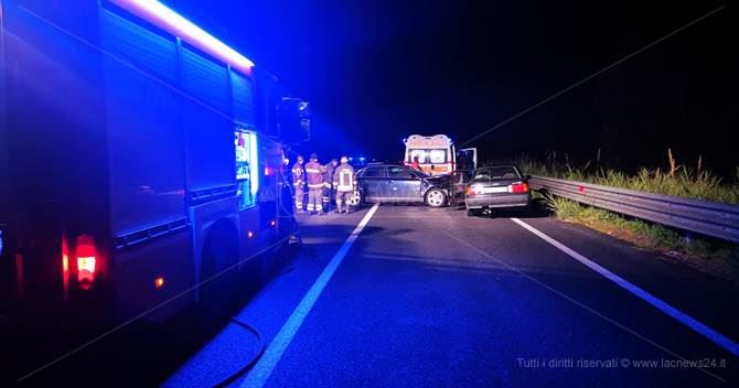 Incidente sulla Jonio-Tirreno