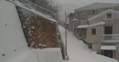 Sersale sotto la neve