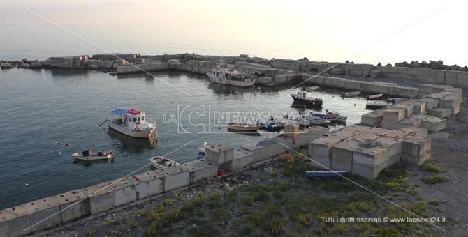 L'area demaniale destinata alla realizzazione del porto