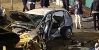 Terribile incidente nel centro di Cosenza, due persone ferite