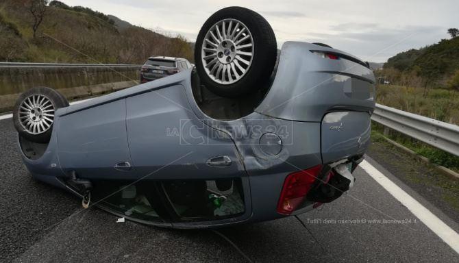Incidente sulla statale 2802 nel Catanzarese
