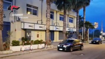 Reggio Calabria, rapinata una sala bingo: indagini in corso