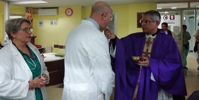 Il vescovo di Lamezia Giuseppe Schillaci