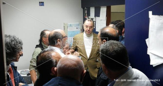 Cotticelli all'ospedale di Polistena
