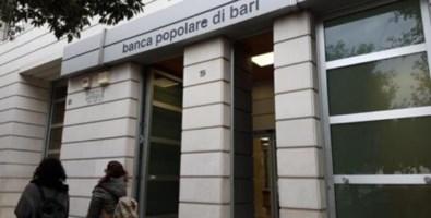 Una filiale della Banca Popolare di Bari