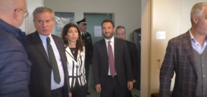 Il viceministro dei Trasporti Cancellieri in visita al porto di Gioia Tauro