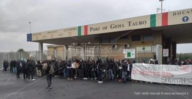 """Protesta migranti, la Flai-Cgil contro """"Campagne in lotta"""": «Avvoltoi»"""