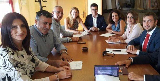 La giunta Callipo con i consiglieri di maggioranza
