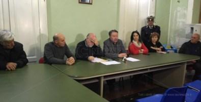 La conferenza di Antonio Trifoli a Riace