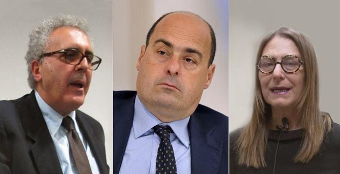 Adamo, Zingaretti e Bruno Bossio