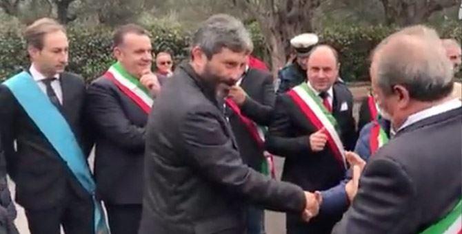 Il presidente Roberto Fico a Santa Maria del Cedro