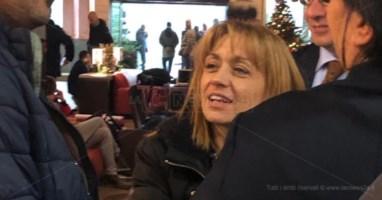 Angela Robbe all'incontro di Lamezia