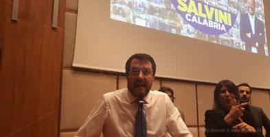 Salvini a Reggio Calabria