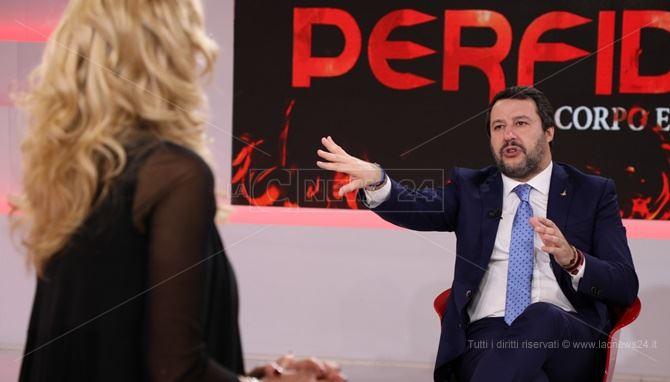 Matteo Salvini a Perfidia