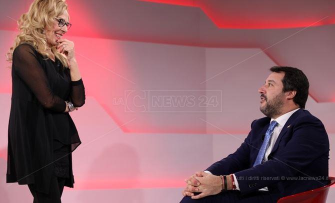 Antonella Grippo e Matteo Salvini