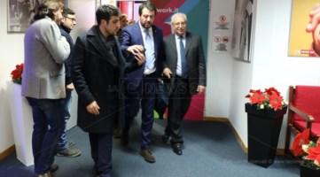 Salvini negli studi di LaC