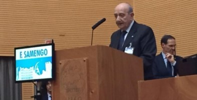 Il presidente Unicef Italia Francesco Samengo