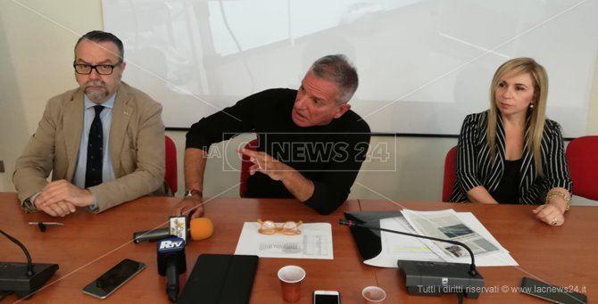 La conferenza stampa di Andrea Agostinelli