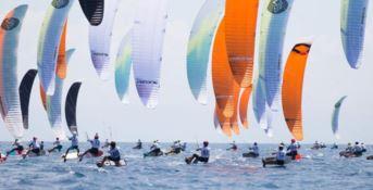 Mondiali di Kite a Gizzeria, chiusa la prima giornata di gare