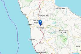 Terremoto nel Cosentino