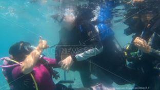In acqua senza barriere, immersioni per tutti a Santa Caterina sullo Ionio