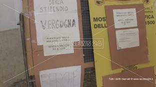 Cosenza, Biblioteca Civica: situazione al limite del collasso